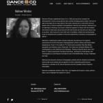 Dance Co - Custom Page Template